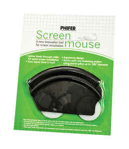 Phifer Wire  Screen Mouse  Plastic  Left/Right  Roller  Other