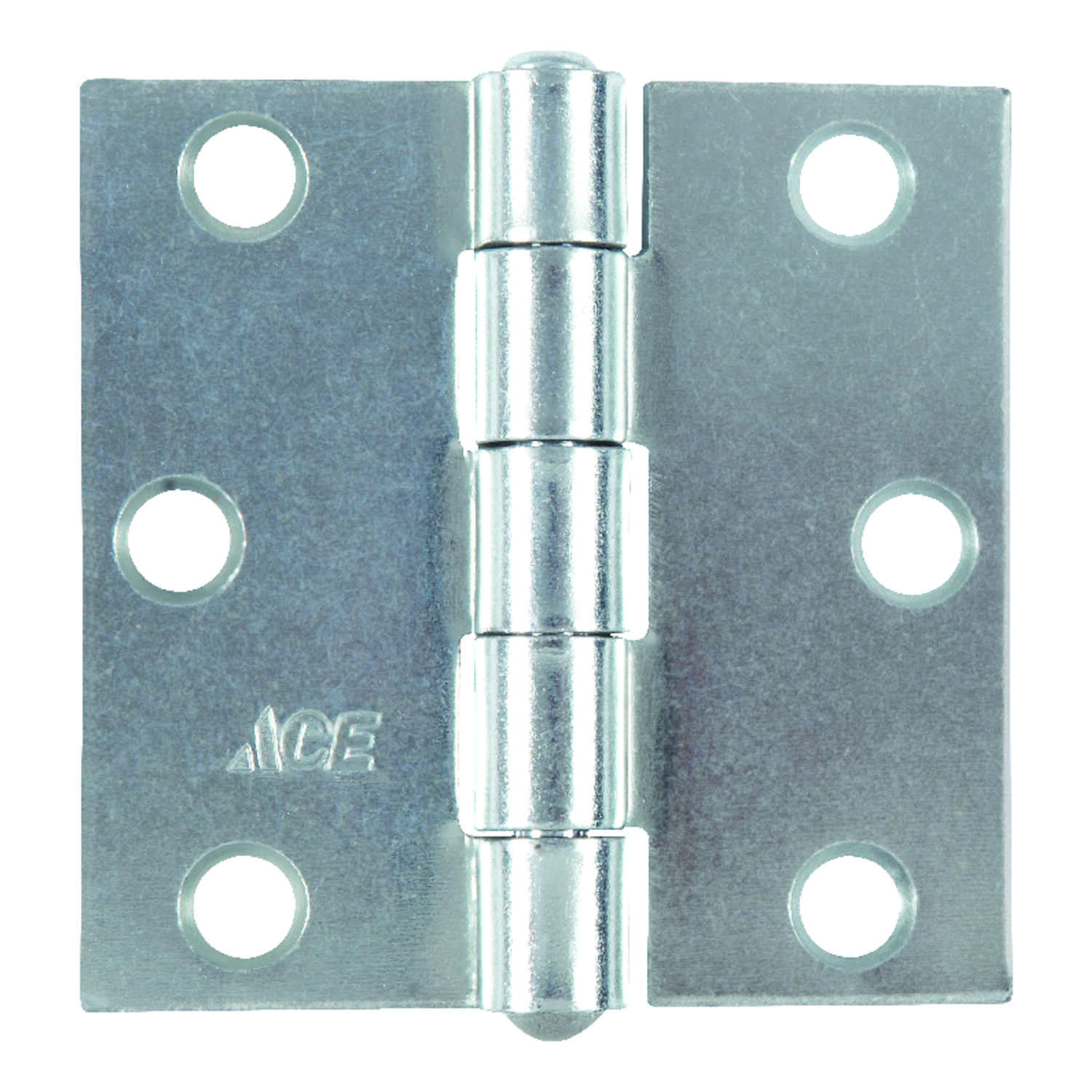 Ace  2-1/2 in. L Zinc-Plated  Broad Hinge  1 pk