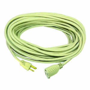 Ace  Indoor and Outdoor  100 ft. L Beige  Extension Cord  16/3 SJTW