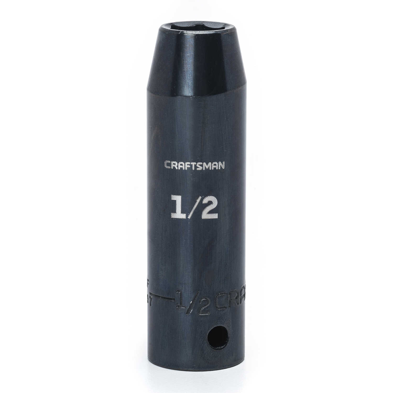 Craftsman  1/2 in.  x 1/2 in. drive  SAE  6 Point Deep  Impact Socket  1 pc.