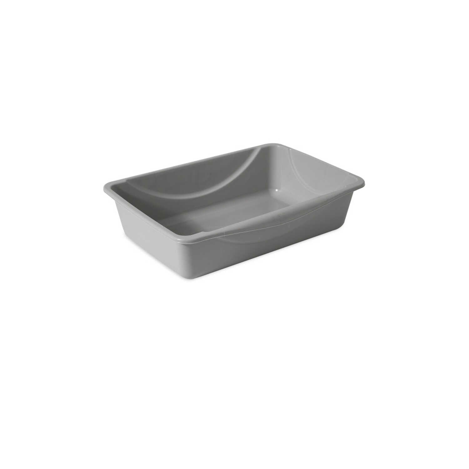 Petmate  Plastic  Gray  Litter Box  1 pk