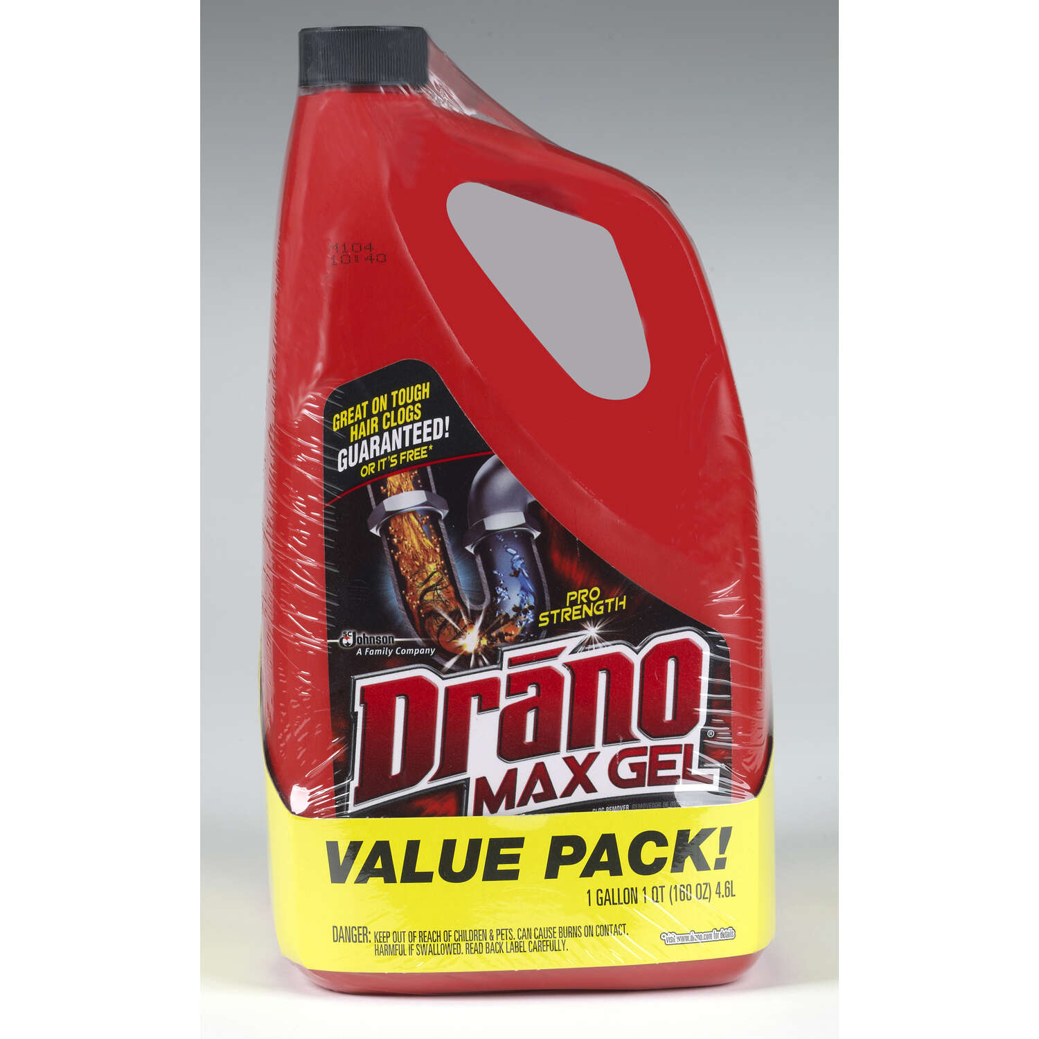 Drano  Professional Strength  Gel  Clog Remover  160 oz.