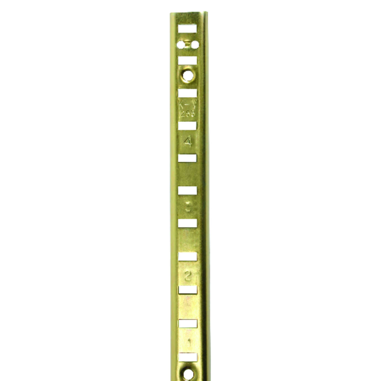 Knape & Vogt  Steel  Heavy Duty Shelf  Pilaster  23 Ga. 36 in. L 250 lb.