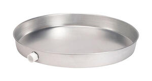 Oatey  Aluminum  Electric  Water Heater Pan  28 in.