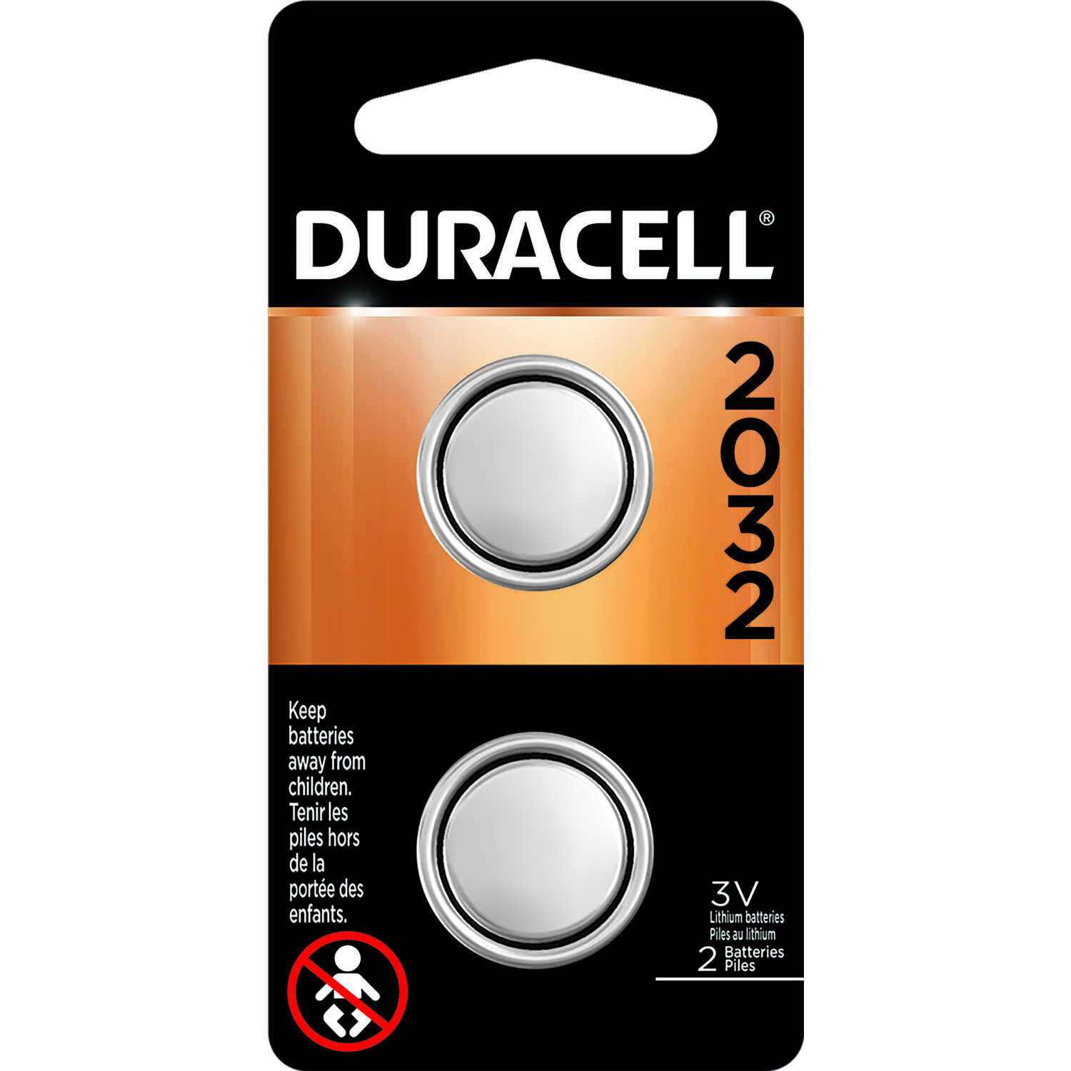 Duracell Lithium 2032 3 volt Security and Electronic Battery ...