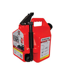 SureCan Child Proof Cap Plastic Gas Can 2.2 gal.