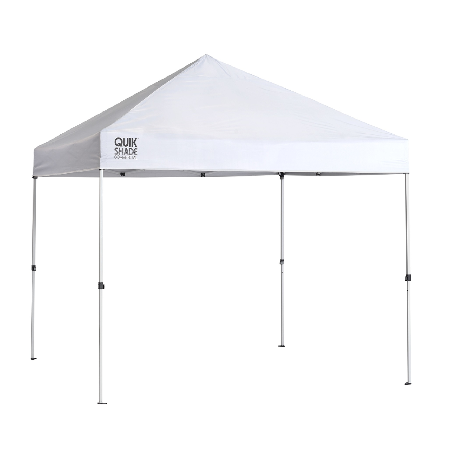 Quik Shade  Polyester  Peak  Canopy  10 ft. L x 10 ft. W