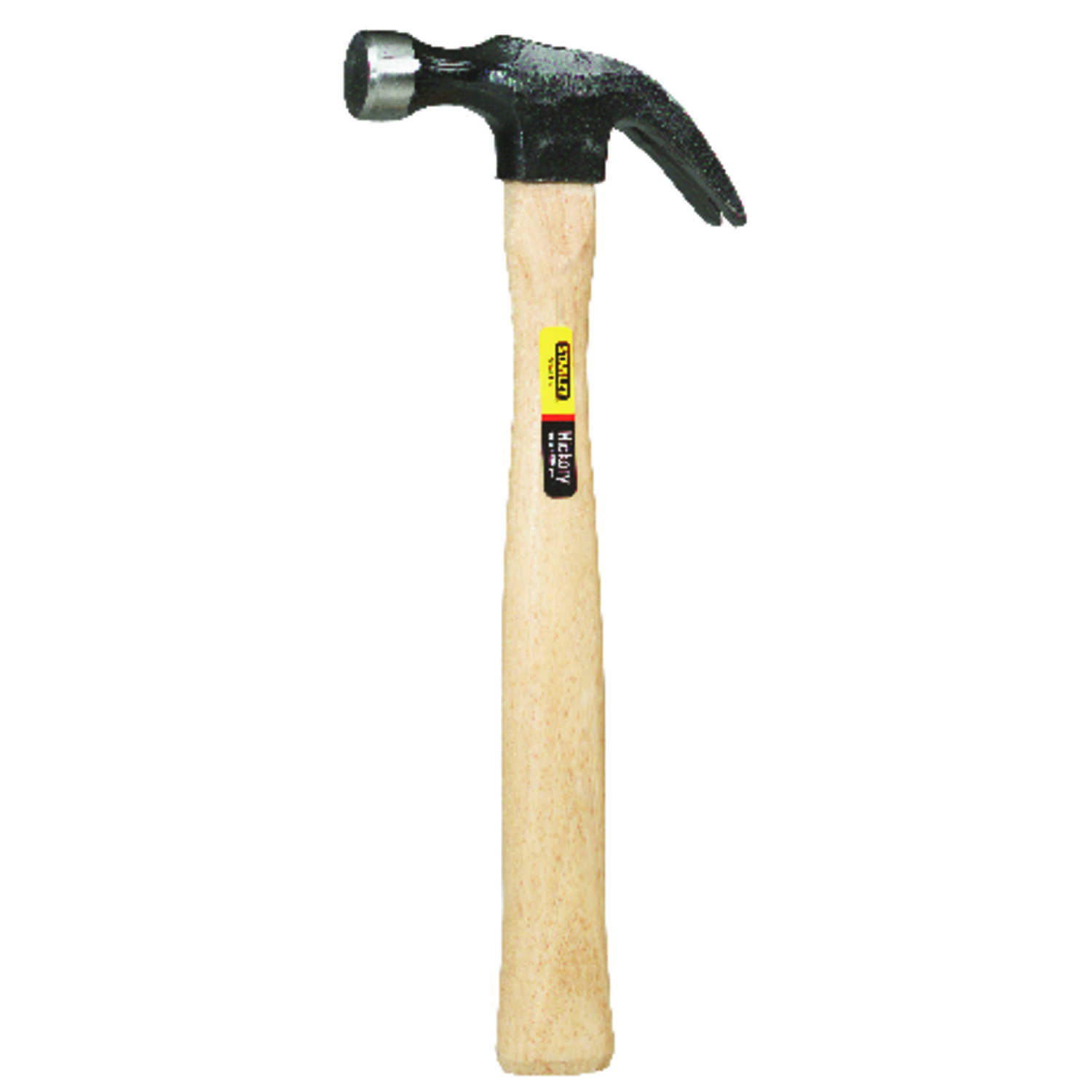 Stanley  16 oz. Curve Claw Hammer  Forged High-Carbon Steel  Wood Handle  13-1/4 in. L