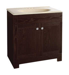 Continental Cabinets  Single  Bright  Vanity Combo  32 in. H x 30 in. W x 18 in. D