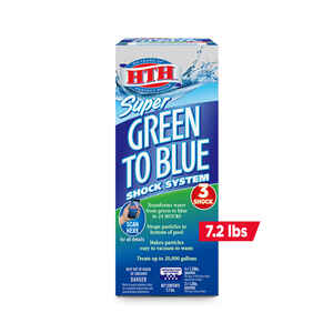 hth  Green to Blue Super  Shock System  7.2 lb.