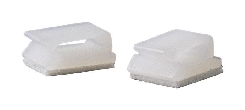 GB 5/16 in. Dia. x 2.75 in. L White Plastic Wire Clip - Ace Hardware