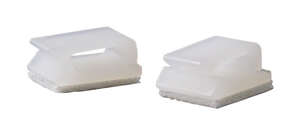 GB  5/16 in. Dia. x 2.75 in. L White  Plastic  Wire Clip