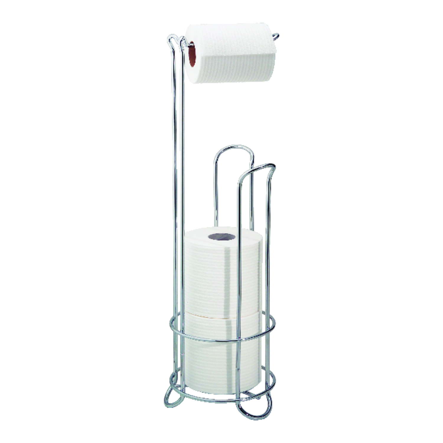InterDesign  Chrome  Silver  Toilet Paper Holder