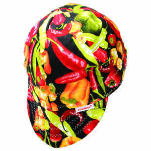Forney  7.75 in. H x 7.75 in. W Cotton  Welding Cap  0.12 lb. Multicolored  1 pc.