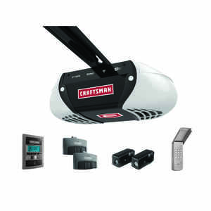 Craftsman  1-1/4 hp Belt Drive  WiFi Compatible Garage Door Opener