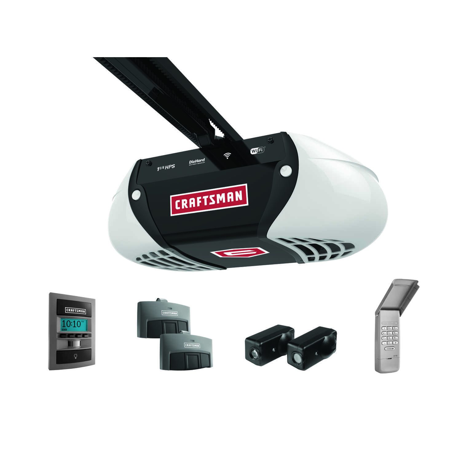 Craftsman  WiFi  1-1/4 hp Belt Drive  Garage Door Opener