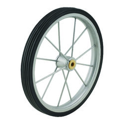 Apex  9-1/2 in. H x 1 in. W x 9-1/2 in. L Shopping Cart Wheel