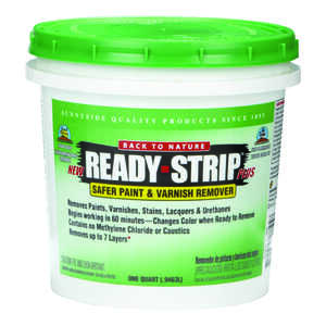 Back to Nature  Ready-Strip Plus  Paint Remover  1 qt.