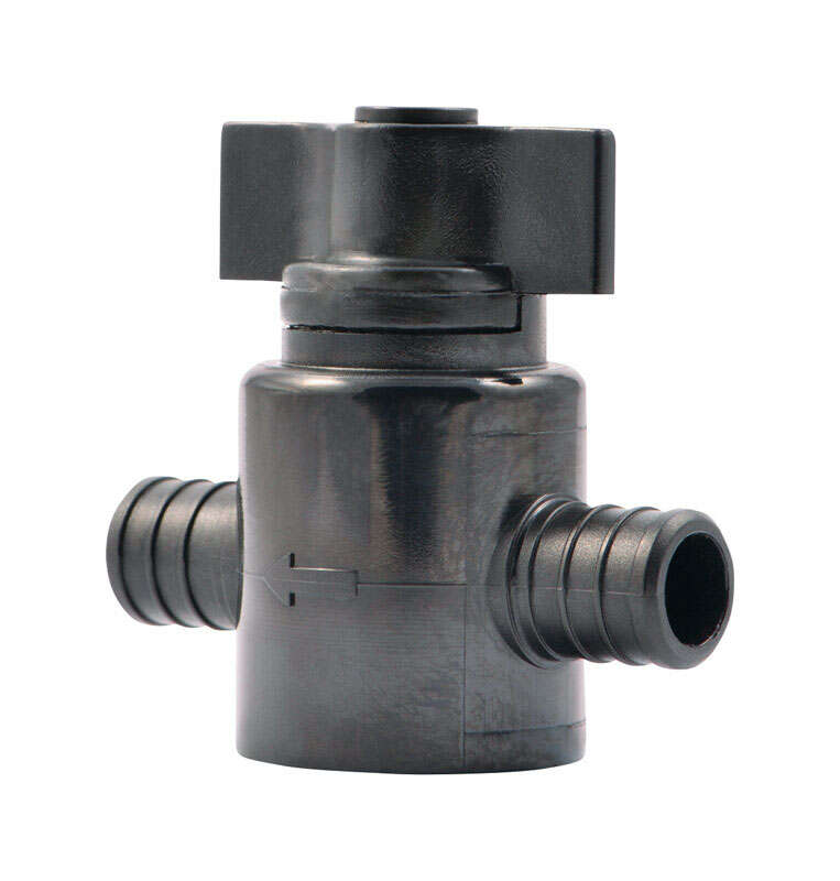 SharkBite  3/4 in. PEX Barb   x 3/4 in. Dia. Barb  Ball Valve
