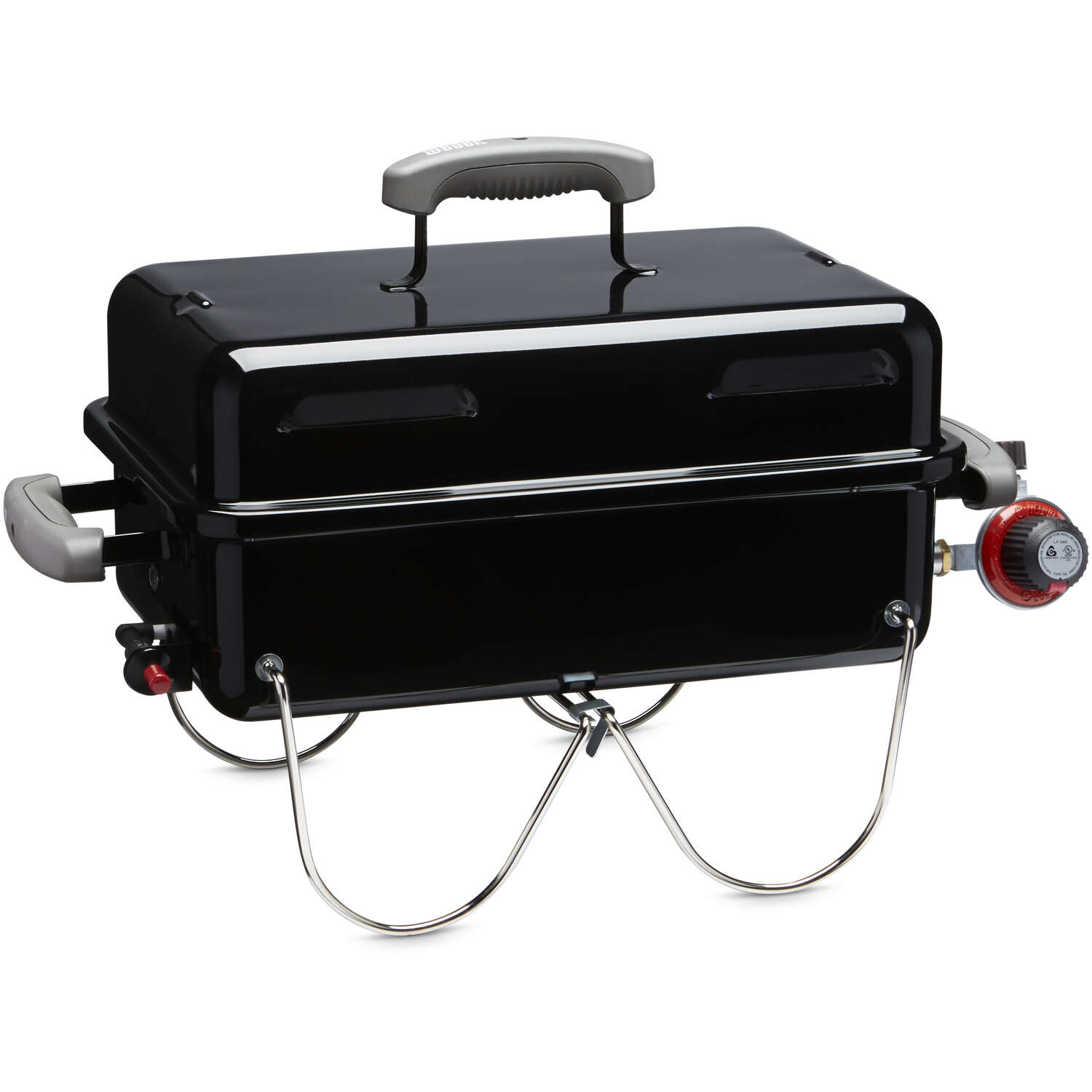 Weber  Go Anywhere  1 burners Propane  Black  Grill  6800 BTU