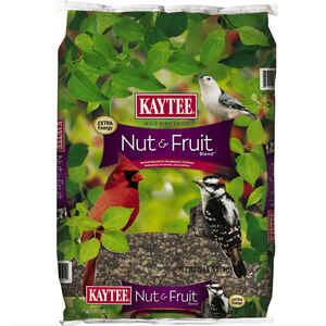 Kaytee  Assorted Species  Wild Bird Food  Fruits and Nuts  20 lb.
