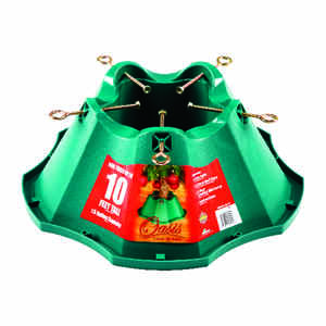 Oasis  Plastic  Green  Christmas Tree Stand  10 ft. Maximum Tree Height