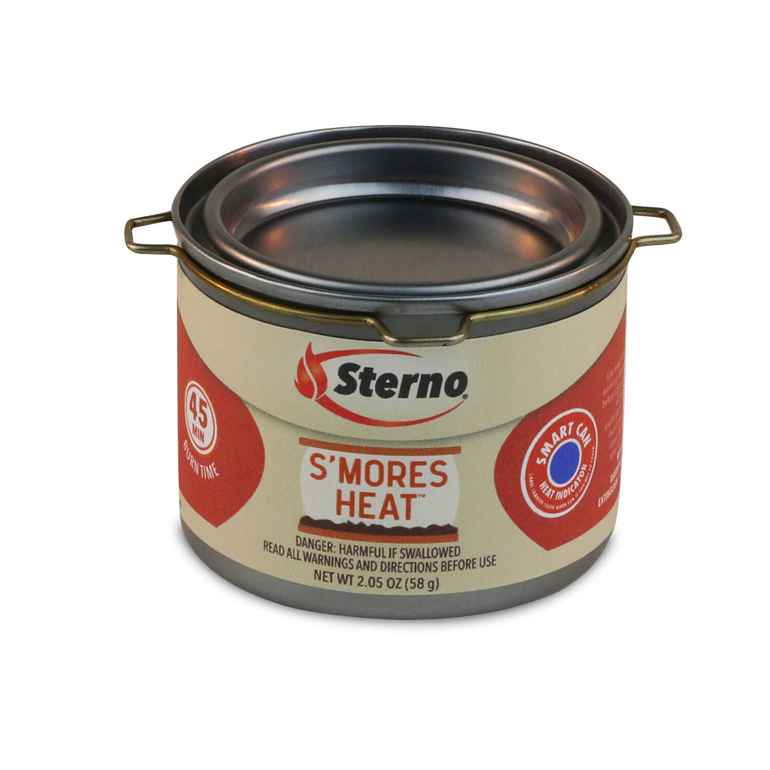 Sterno  S'MORES HEAT  Cooking Fuel  3.78 in. H x 2.50 in. W x 2.50 in. L 2 pk