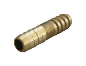 JMF  Brass  Hose Mender  3/16 in. Dia. x 3/16 in. Dia. Yellow  1 pk