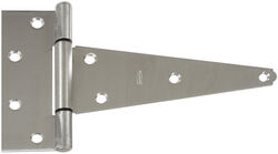 National Hardware 8 in. L Stainless Steel Stainless Steel Heavy Duty T Hinge 1 pk