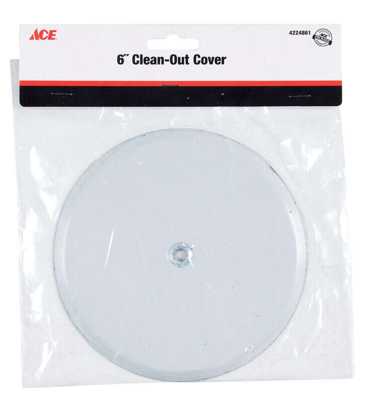 Ace  Stainless Steel  Cleanout Wall Cover