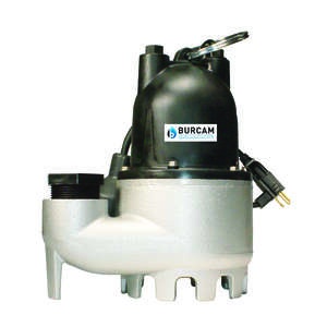 Burcam  1/3 hp 3050 gph Cast Iron  Submersible Sump Pump