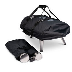Ooni Fyra Cover Black Grill Cover/Carry Bag For Ooni Fyra 12 in. W x 7 in. H