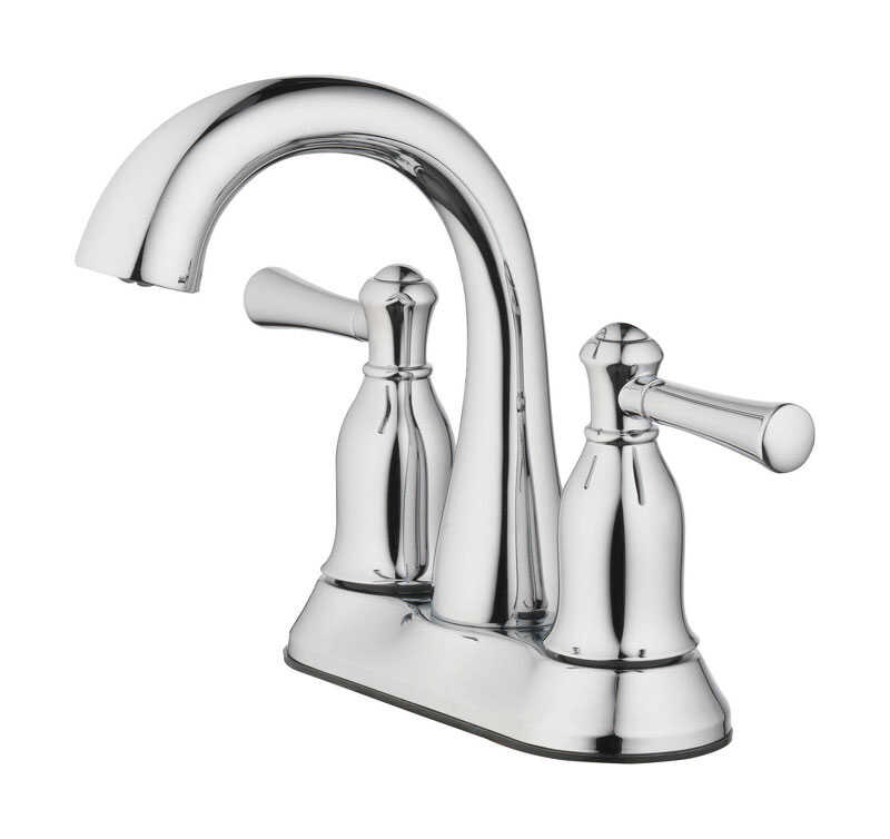 OakBrook  Verona  Verona  Two Handle  Lavatory Pop-Up Faucet  4 in. Chrome