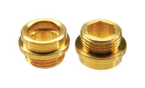 Ace  1/2 - 24 in. #7  Brass  Faucet Seat  Central/Rheem  1 pk