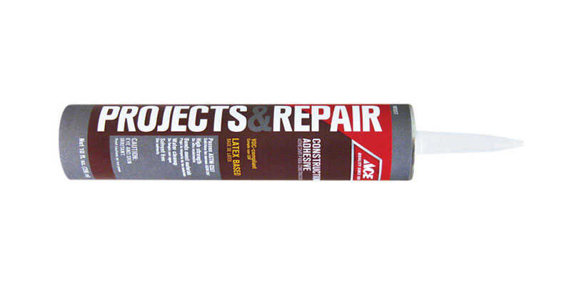 Ace  Projects & Repair  Liquid  Construction Adhesive  10 oz.