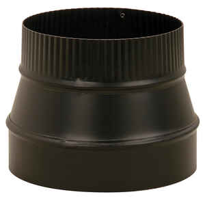 Imperial  8 in. Dia. x 6 in. Dia. Steel  Stove Pipe Reducer