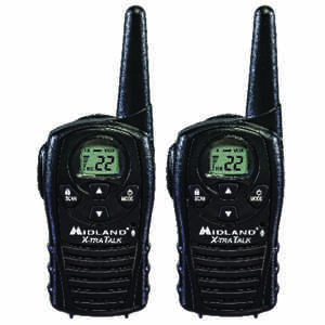 Midland  VHF  18 mi. Two-way radio