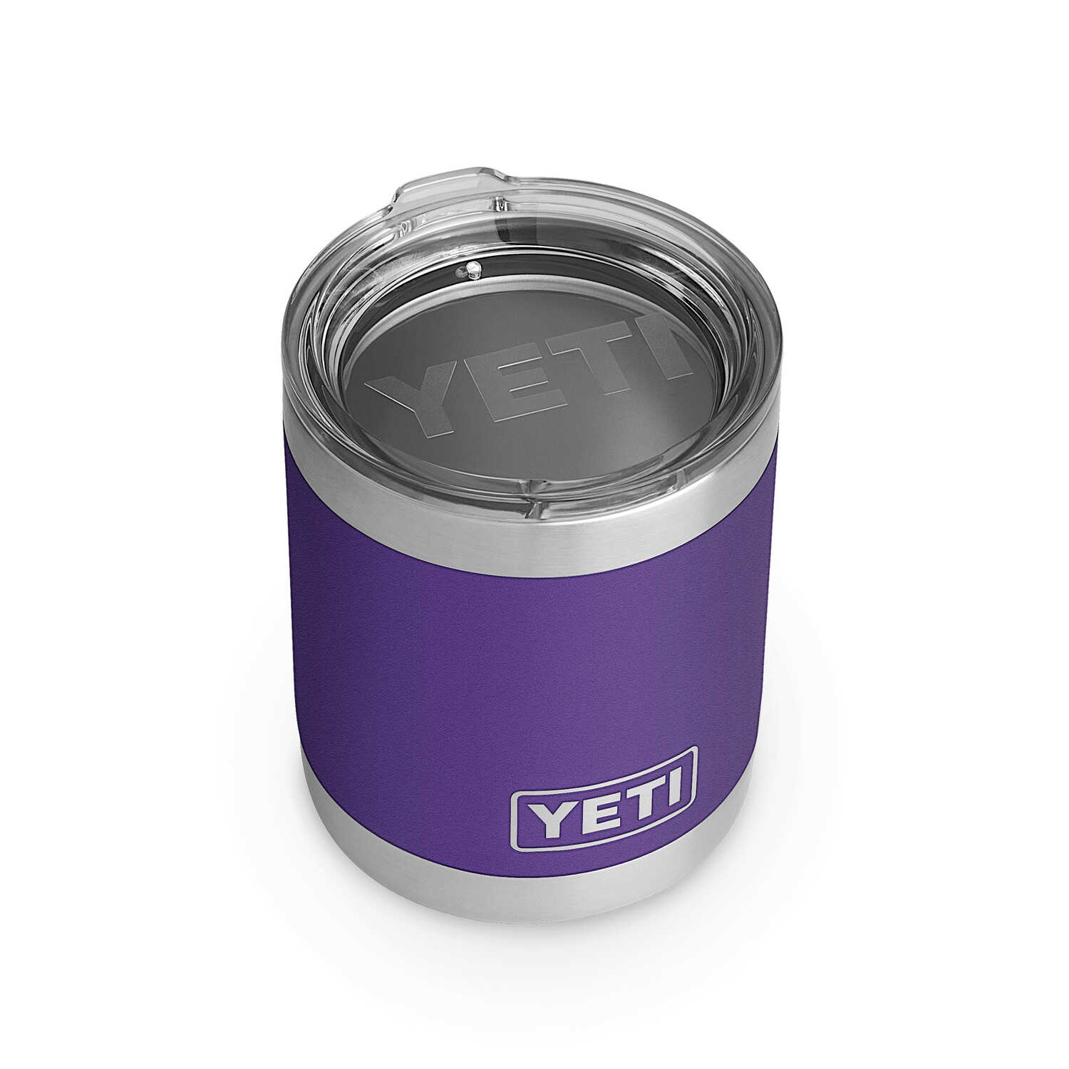 YETI  Rambler  10 oz. Lowball  Insulated Tumbler  Peak Purple