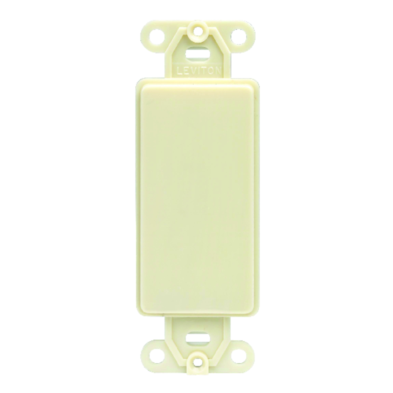 Leviton Ivory 1 gang Plastic GFCI/Rocker 1 pk Wall Plate - Ace Hardware