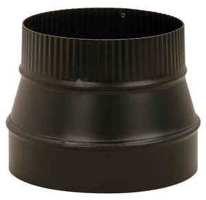 Imperial  8 in. Dia. x 7 in. Dia. Steel  Stove Pipe Reducer