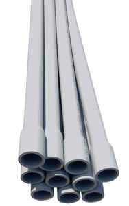 Cantex  3 in. Dia. x 10 ft. L PVC  For Rigid Electrical Conduit