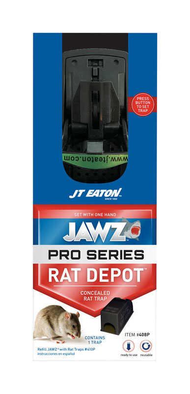JT Eaton  JAWZ Pro Series  Covered  Animal Trap  For Rats 1 pk