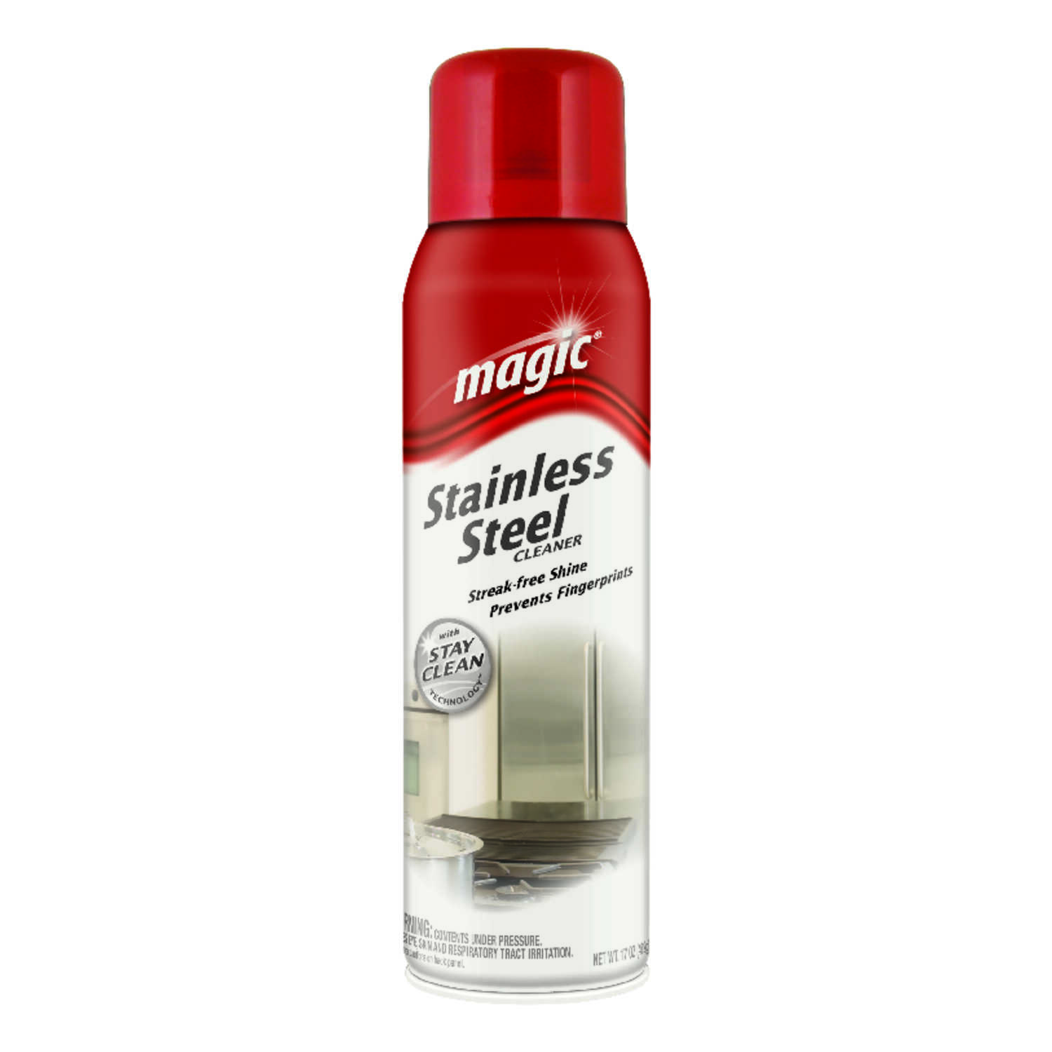 Magic  Citrus Scent Stainless Steel Cleaner & Polish  17 oz. Spray