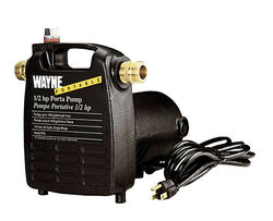 Wayne  1/2 hp 1600 gph Cast Iron  Switchless  AC  Transfer Pump
