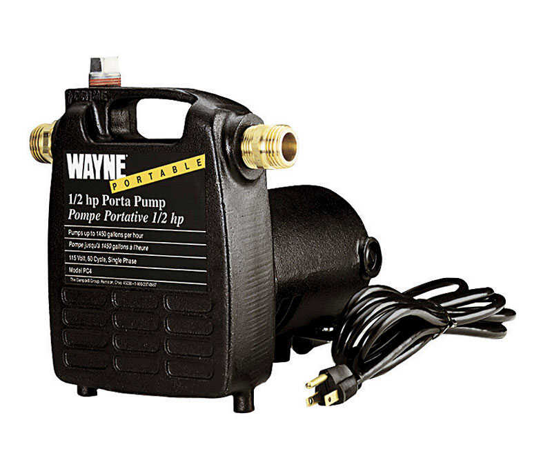 Wayne  Cast Iron  Transfer Pump  1/2 hp