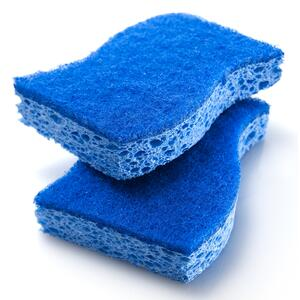 3M  Scotch-Brite  Non-Scratch  For Multi-Purpose Sponge  4.4 in. L 2 pk
