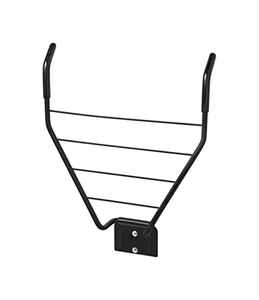 Racor  3 in. H x 14 in. W x 3 in. L Epoxy  Single Folding Bike Rack