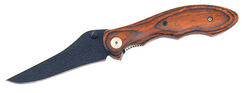 Frost Cutlery  Mounted Police  Brown  Stainless Steel  8 in. Tactical Folder  Pocket Knife