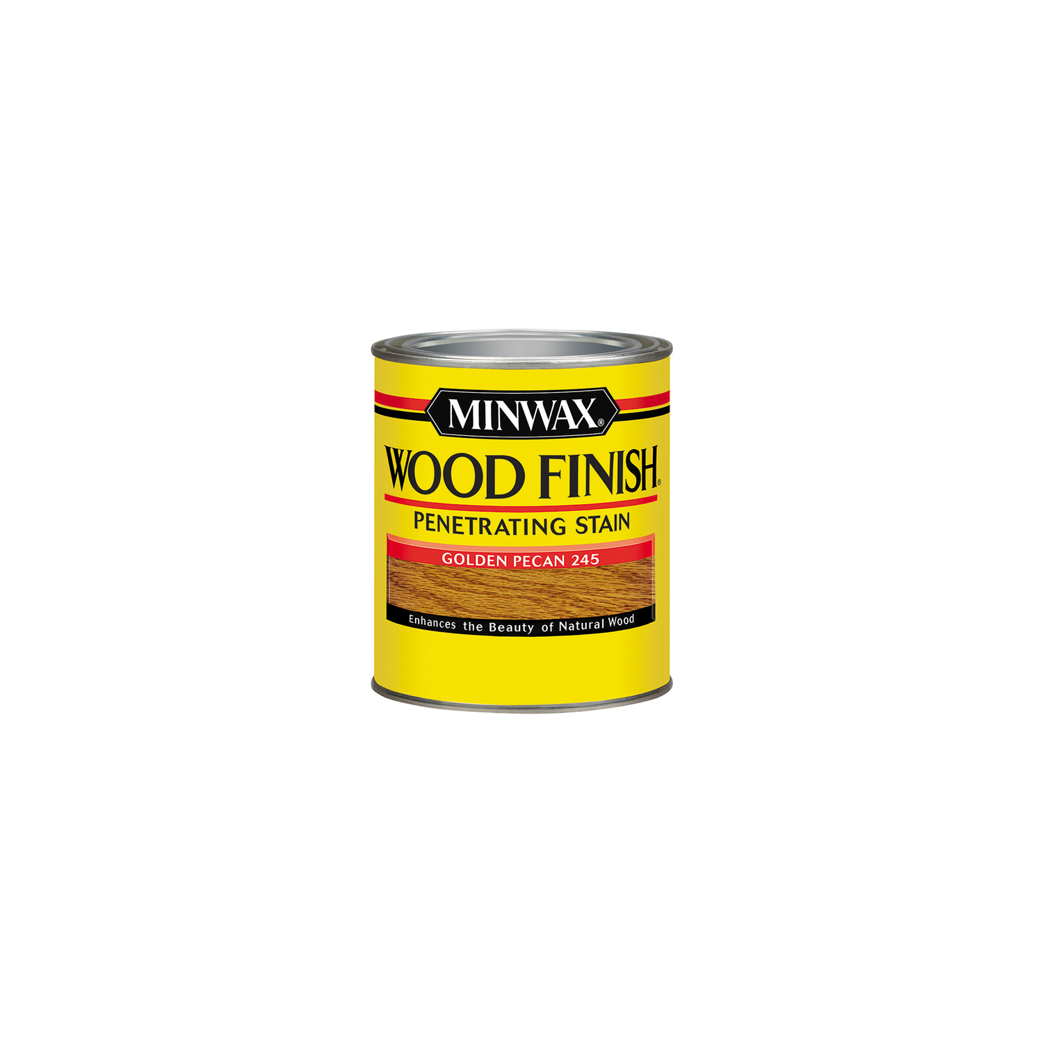 Minwax  Wood Finish  Semi-Transparent  Golden Pecan  Oil-Based  Wood Stain  1/2 pt.
