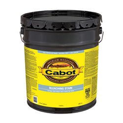 Cabot  Semi-Transparent  Driftwood Gray  Water-Based  Acrylic  Bleaching Stain  5 gal.